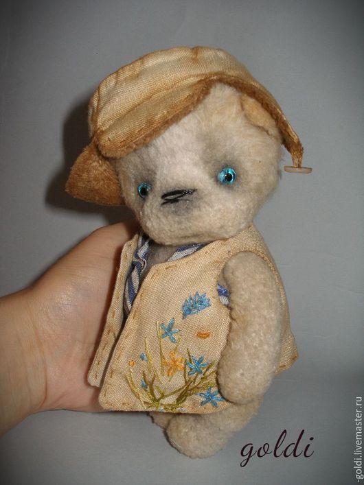 Мишки Тедди ручной работы. Ярмарка Мастеров - ручная работа. Купить Щенок Верный друг. Handmade. Бежевый, собака тедди