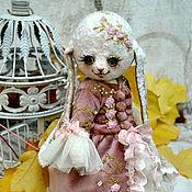"""Куклы и игрушки ручной работы. Ярмарка Мастеров - ручная работа Плюшевая зайка """"Анжелика"""". Handmade."""