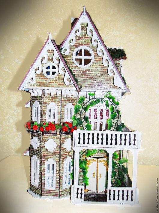 Кукольный дом ручной работы. Ярмарка Мастеров - ручная работа. Купить Кукольный домик. Handmade. Кукольный домик, ручная работа