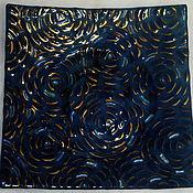 """Посуда ручной работы. Ярмарка Мастеров - ручная работа Тарелка """" Миллион роз. Синие. """". Handmade."""