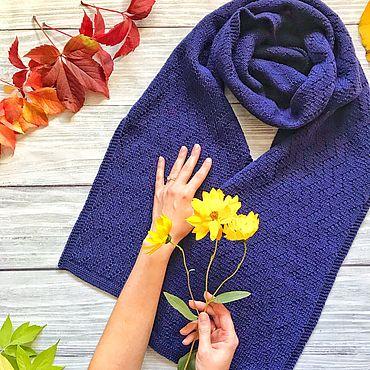 Аксессуары ручной работы. Ярмарка Мастеров - ручная работа Шарф, вязаный шарф, теплый шарф, палантин, женский шарф. Handmade.
