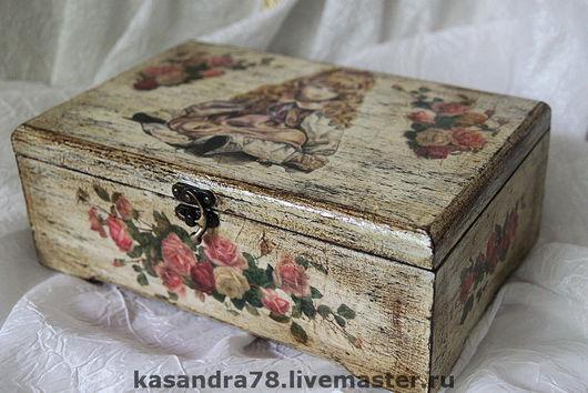 Кухня ручной работы. Ярмарка Мастеров - ручная работа. Купить Чайная коробка Кукла. Handmade. Чайная корбка
