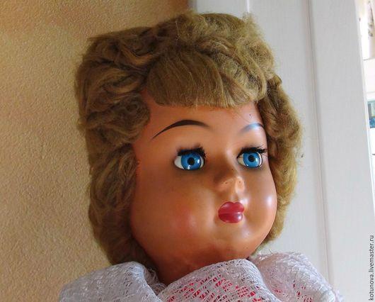 Винтажные куклы и игрушки. Ярмарка Мастеров - ручная работа. Купить Старинная кукла 60-65см Athena 1940-е Италия. Handmade.