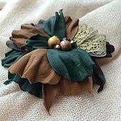 """Украшения ручной работы. Ярмарка Мастеров - ручная работа Брошь """"Три орешка для золушки"""". Handmade."""