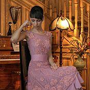 """Одежда ручной работы. Ярмарка Мастеров - ручная работа Авторское  платье """"Розовое"""". Handmade."""