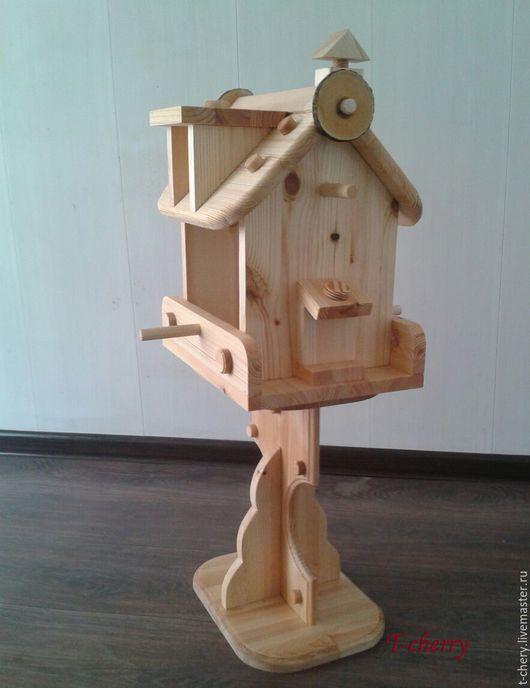 Для других животных, ручной работы. Ярмарка Мастеров - ручная работа. Купить Кормушка для птиц. Handmade. Кормушка, кормушка из дерева