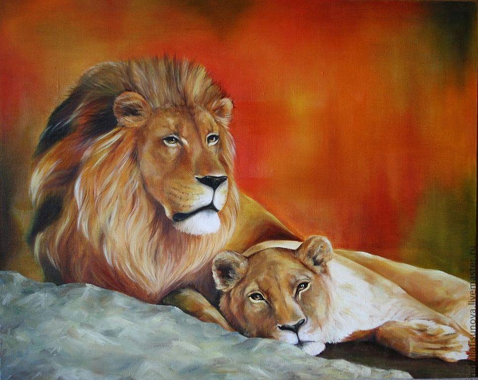 Подарок мужчине лев