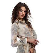 Одежда handmade. Livemaster - original item Shirt dress Summer cloak