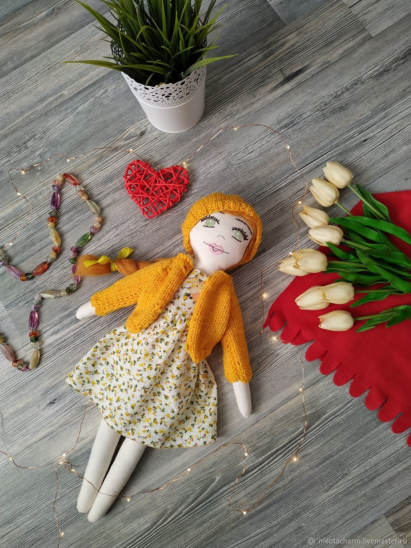 Текстильная кукла. Textile doll, Тыквоголовка, Оренбург,  Фото №1