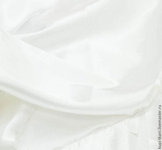 Шитье ручной работы. Ярмарка Мастеров - ручная работа. Купить Атлас стрейч белый и молочный. Handmade. Атлас, атлас-стрейч