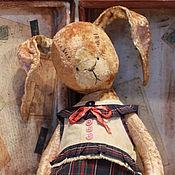 Куклы и игрушки ручной работы. Ярмарка Мастеров - ручная работа Кролик Тишка. Handmade.