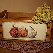 """Для дома и интерьера ручной работы. Ярмарка Мастеров - ручная работа Короб """"Луковка"""". Handmade."""