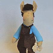 Куклы и игрушки ручной работы. Ярмарка Мастеров - ручная работа Лошадка -конь Митя. Handmade.