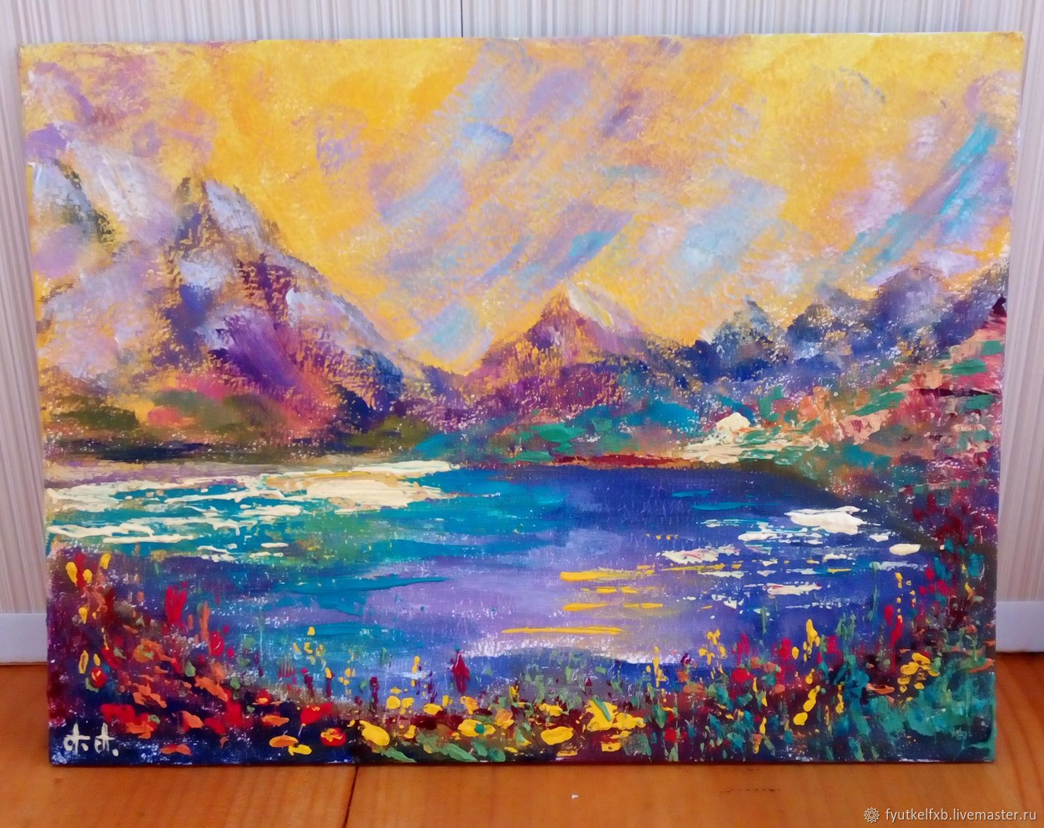 The painting 'Dreams come true' (oil painting miniature 20/15), Pictures, Moscow,  Фото №1