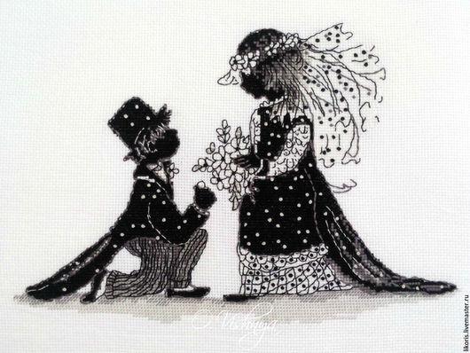 """Люди, ручной работы. Ярмарка Мастеров - ручная работа. Купить Вышитая картина """"Свадьба"""".. Handmade. Вышивка, эксклюзивный подарок"""