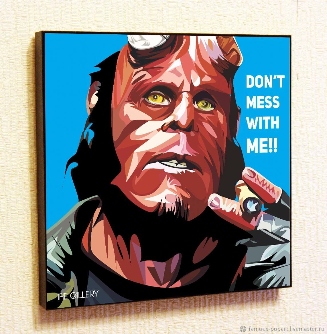 Picture Poster Hellboy Pop Art, Fine art photographs, Moscow,  Фото №1