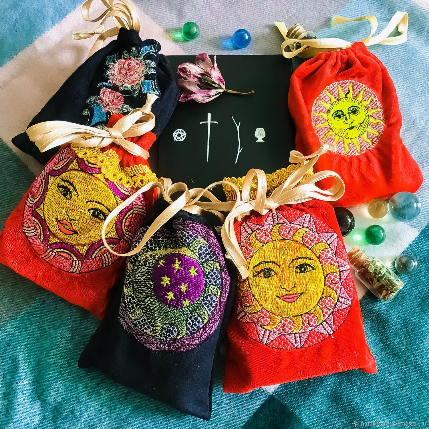 pouch: Case: for Tarot cards, Baggie, Engels,  Фото №1