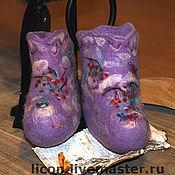 Обувь ручной работы. Ярмарка Мастеров - ручная работа Зимняя сказка. Handmade.
