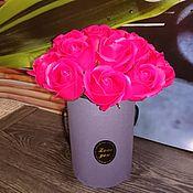 Косметика ручной работы handmade. Livemaster - original item Forever beautiful roses from soap. Handmade.
