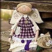 Куклы и игрушки ручной работы. Ярмарка Мастеров - ручная работа Маленькая помощница. Ангел хорошего настроения. Бохо стиль.. Handmade.