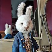 Куклы и игрушки handmade. Livemaster - original item Friends Teddy. The author`s work. Peter Rabbit.. Handmade.
