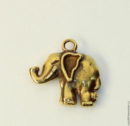 Миниатюрные модели ручной работы. Ярмарка Мастеров - ручная работа. Купить Слон. Handmade. Золотой, слоник, статуэтки из металла, Литье
