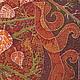 Фантазийные сюжеты ручной работы. Картина Осенние Кракелюры выполненная на хб ткани в технике батика. Мария. Интернет-магазин Ярмарка Мастеров.