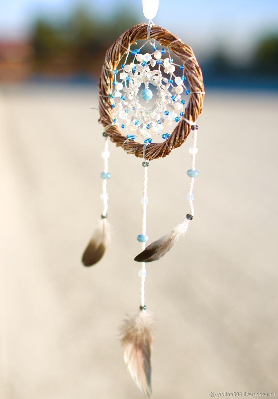 «Голубая мечта» Ловец снов - гармонизатор биополя, Сувениры, Москва, Фото №1