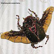 Комплекты украшений ручной работы. Ярмарка Мастеров - ручная работа Кулон-брошь-браслет Золотая пыль. Handmade.