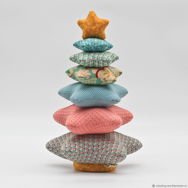 Новогодняя Ёлочка из хлопчатобумажной ткани для пэчворка, 1, Елки, Москва,  Фото №1
