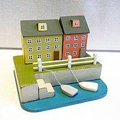 Для дома и интерьера ручной работы. Ярмарка Мастеров - ручная работа Миниатюра, домики, декор, домики у моря. Handmade.