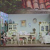 Куклы и игрушки ручной работы. Ярмарка Мастеров - ручная работа Столовая Версаль. Handmade.
