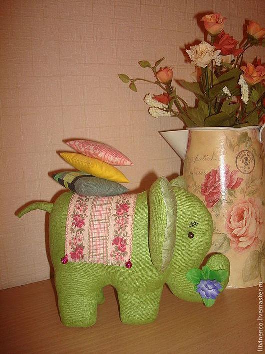 Игрушки животные, ручной работы. Ярмарка Мастеров - ручная работа. Купить Слоник. Handmade. Слон, подарок на день рождения, игрушка
