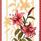 Материалы для творчества handmade. Livemaster - original item Set for cross stitching a Reflection of Lily. BD-006 the Golden fleece. Handmade.
