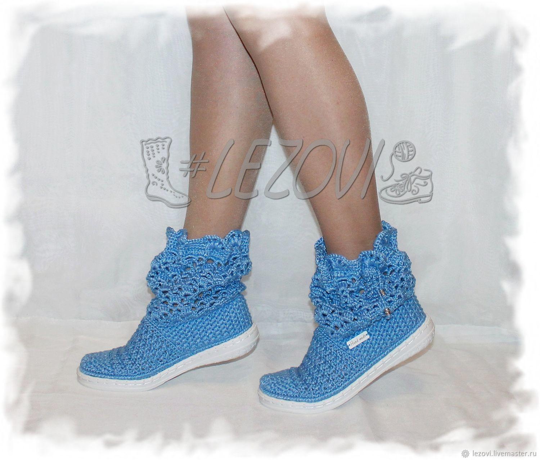 Copy of Copy of Linen Boots (Daria), Ankle boot, Serpukhov,  Фото №1