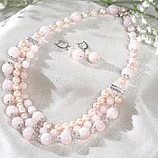 Украшения handmade. Livemaster - original item Necklace with kunzite