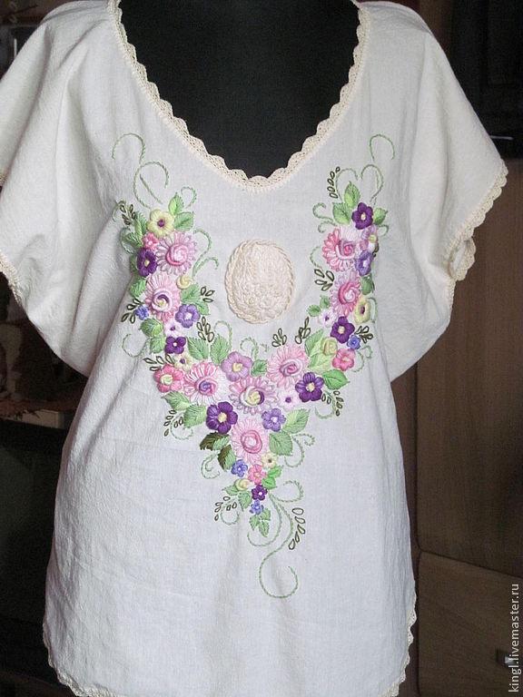 Блузки 64 размера