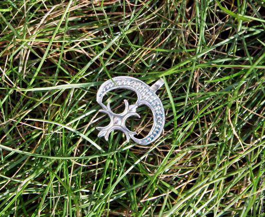 Лунница из серебра / Серебряная лунница / Подвеска лунница Такая же лунница из латуни 250 р.