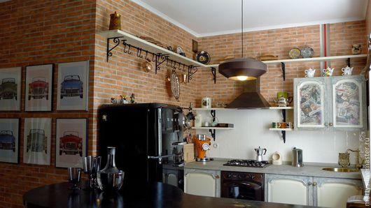 Город ручной работы. Ярмарка Мастеров - ручная работа. Купить кухня ручной работы. Handmade. Бежевый, кухня ручной работы