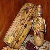 """Короб ручной работы. Ярмарка Мастеров - ручная работа Короб для вина """"Божоле"""" (Beaujolais). Handmade."""