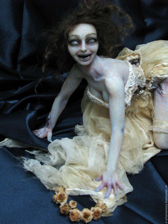 Силиконовая кукла Мертвая Невеста, Куклы и пупсы, Португалете,  Фото №1