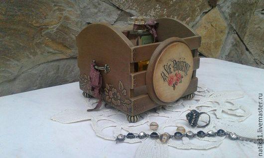 Короб ручной работы, для женских мелочей. Ярмарка Мастеров - ручная работа. Купить короб `Маленькая парижанка`