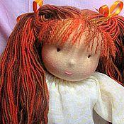 Куклы и игрушки ручной работы. Ярмарка Мастеров - ручная работа Вальдорфская кукла-девочка 36-40см. Handmade.