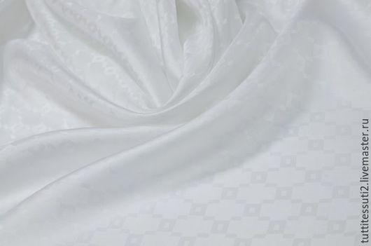 Шитье ручной работы. Ярмарка Мастеров - ручная работа. Купить Подкладочная ткань 11-003-2494. Handmade. Белый, вискоза