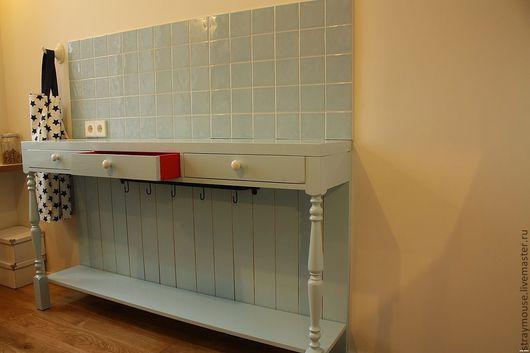 Мебель ручной работы. Ярмарка Мастеров - ручная работа. Купить Кухонная консоль. Handmade. Консоль, рабочая поверхность, мебель на заказ