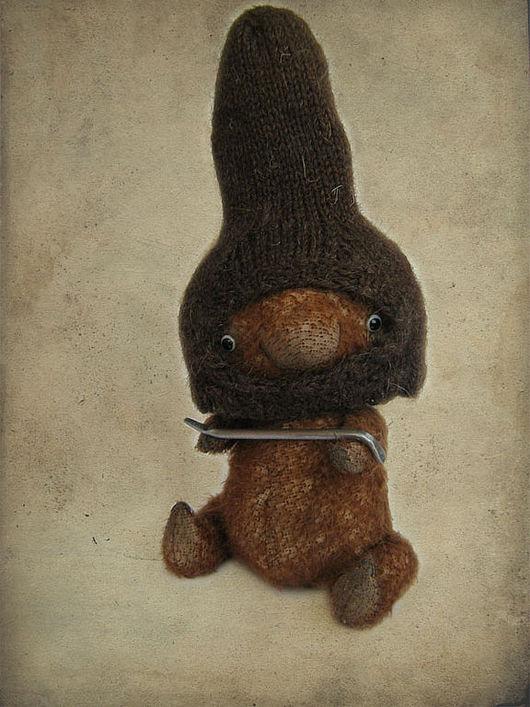 Мишки Тедди ручной работы. Ярмарка Мастеров - ручная работа. Купить заяц Тимофей, кличка Фомка. Handmade. Заяц, фомка
