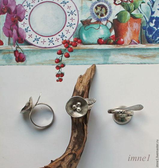 """Кольца ручной работы. Ярмарка Мастеров - ручная работа. Купить Колечко серебряное """"Гнездышко"""". Handmade. Серебряное кольцо, кольцо, гнездо"""