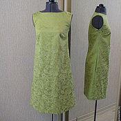 Одежда ручной работы. Ярмарка Мастеров - ручная работа Платье трапеция. Handmade.