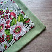 Материалы для творчества handmade. Livemaster - original item Fabric: Set of fabrics for creativity No. №9 Rosehip. Handmade.