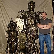 """Для дома и интерьера ручной работы. Ярмарка Мастеров - ручная работа Арт.2  Кованая скульптурная композиция """" Афродита"""". Handmade."""